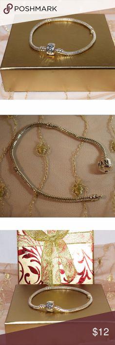 Euro sterling silver bracelet-sale Euro sterling silver bracelet-NWOT Jewelry Bracelets