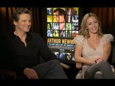 """Colin Firth and Emily Blunt Reveal The Secret To Shooting Love Scenes on """"Arthur Newman"""""""