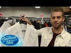 Seth, the American Idol Stylist for the men, discusses Burnell Taylor's outfit for this week. Check out the styling process!