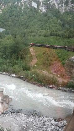 7•15•16 《Train ride in Skagway, Alaska》