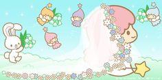 Sanrio: Little Twin Stars:) Hello Kitty Iphone Wallpaper, My Melody Wallpaper, Sanrio Wallpaper, Little Twin Stars, Little Star, Badtz Maru, Hello Kitty My Melody, Star Banner, Star Illustration