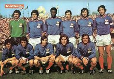 France team group in 1972.