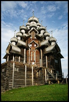 Russia: The smaller, ten-domed Intercession Church was built in 1764.