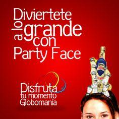 Las diademas de nuestra línea #PartyFace tienen diseños fuera de serie para que te diviertas en tus fiestas y eventos.  #DisfrutaTuMomentoGlobomanía