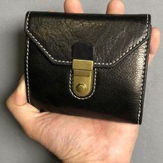 5082c9677770a Handmade Leather Mens Cool Short Leather Wallet Men Small Wallets Trif –  iwalletsmen Best Wallet