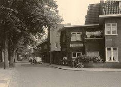 Vierwindenstraat vanaf hoek van Coothplein . 1960 BREDA