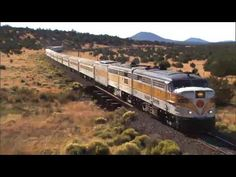 Love the idea of a road trip but don't want to be stuck behind the wheel the whole time? Think train trips instead! We're sharing 10 of our favorites to inspire you. Check them out! Train trips are one of the best ways to see the sights in North… Grand Canyon Railway, National Parks Map, National Park Posters, Toyota Prius, Honda Civic, Locomotive, Route 66 Road Trip, Old Trains, Ways To Travel