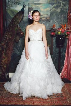 Gorgeous Wedding Dresses: The Anna Georgina 2015 Collection - crazyforus 2015 Wedding Dresses, Classic Wedding Dress, Gorgeous Wedding Dress, Glamorous Wedding, Beautiful Gowns, Beautiful Bride, Wedding Gowns, Photomontage, Mod Wedding