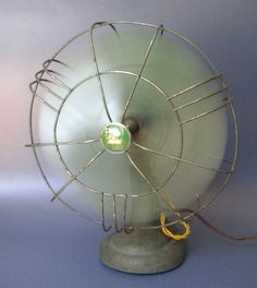 I'm obsessed with fans, and vintage...this is both things.