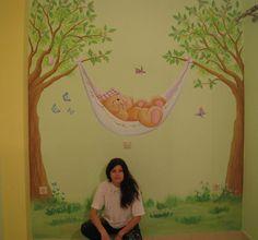 Ζωγραφική βρεφικού δωματίου με τα forever friends