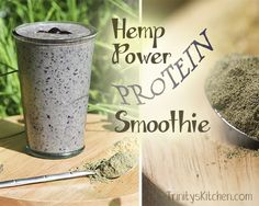 Hemp Power Protein Smoothie – superfood health infusion   Trinity's Conscious Kitchen