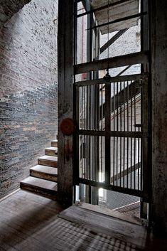 industrial LOFT ELEVATORS INTERIORS - Google Search