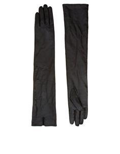 Enlarge ASOS Long Leather Gloves
