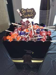 My daughters candy bar for graduation!!