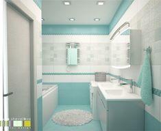 Blue Bathroom Decor, Nautical Bathrooms, Bathroom Layout, Bathroom Colors, Modern Bathroom, Small Bathroom, Modern Bedroom Design, Bathroom Interior Design, Toilet Design