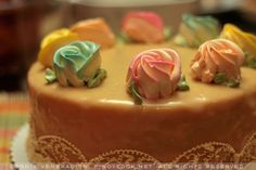 estrels- caramel cake..i can eat a whole of this