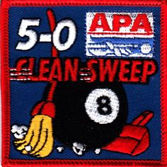 8 Best Apa Patches For Sale Pool Players Images Patches