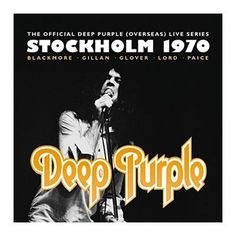"""L'album dei #DeepPurple intitolato """"Stockholm 1970""""."""