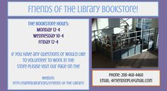 Friends of the Nampa Public Library Bookstore - Check it out!