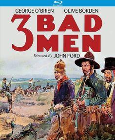 3 Bad Men - Blu-Ray (Kino Lorber Region A) Release Date: August 23, 2016 (Amazon U.S.)