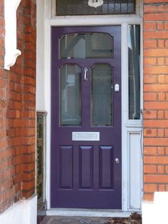 The London Door Company \'Midnight Blue\' paint colour - Satin ...