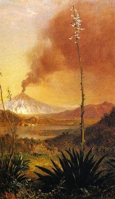 Sans titre, huile de Frederic Edwin Church (1826-1900, United States) Zippertravel.com Digital Edition