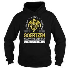 Ireland Wales Scotland GOERTZEN Another Celtic Legend Name Shirts #Goertzen