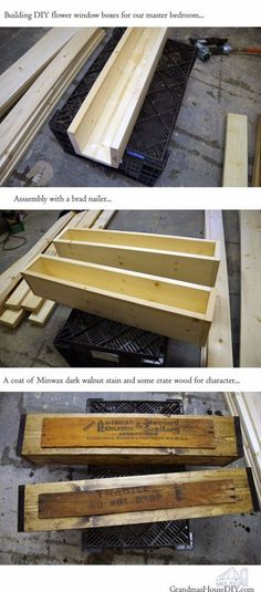 This post is about how I built hanging flower boxes for our master bedroom! So this past winter I kinda went stir crazy with cabin fever. There really isn't any…