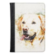#Colorful Labrador Illustration Kindle Case - #labrador #retriever #puppy #labradors #dog #dogs #pet #pets