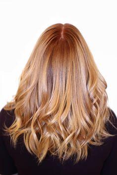 Warm Copper Blonde ‹ HAIR COLORIST SWEDEN — Madde Christensson, Copyright 2016