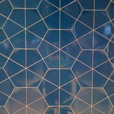 Cool geometric pattern - tiles at town hall station Sydney