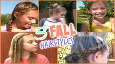 D I Y Quick and Easy Fall Hairstyles!
