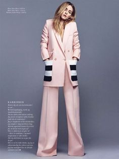 Alexandra de Curtis 8 Ways to wear pink in a grown up way. #oliviapalermo #millennialpink