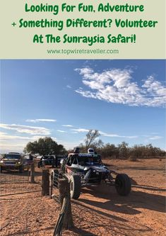 Getting among the action at the Sunraysia Safari, Wentworth NSW! A behind-the-scenes look at volunteering as control officials. It's fun! Outback Australia, Visit Australia, Western Australia, Road Race Car, Off Road Racing, Travel Trailer Camping, Travel Trailers, Camping Hacks, South Wales
