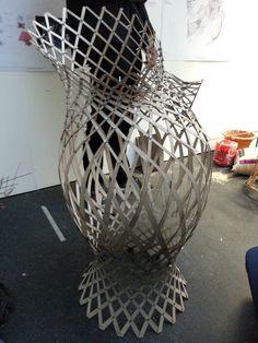 John Harding s woven lattice Geodesic Dome, Bending Wood, Architecture,  Facades, Geometry, a6c465539f5