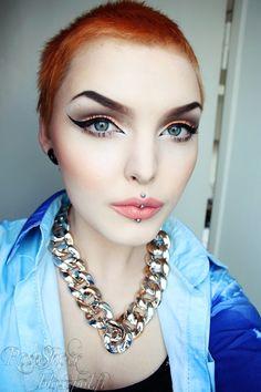 Rose Shock - just discovered her. Amazing make up artiste!