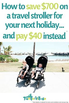 Hire or buy baby equipment Traveling With Baby, Travel With Kids, Family Travel, Traveling By Yourself, Baby Travel, Toddler Travel Activities, Tree Hut, Baby Equipment, Travel Stroller