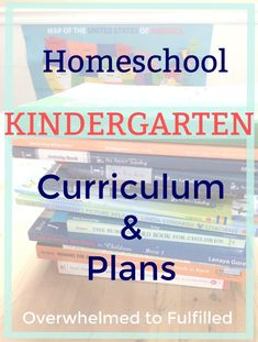 Homeschool Kindergarten - Plans and Curriculum - Faithful Pursuit