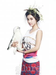 Kim So Eun - Allure Magazine April 2013