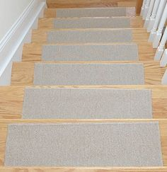 Affordable Light Beige Set Of 7 Skid Resistant Rubber Backing Non Slip  Carpet Stair Treads Machine Washable X