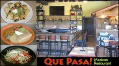 $20 worth of food at Que Pasa Mexican Restaurant for just $10