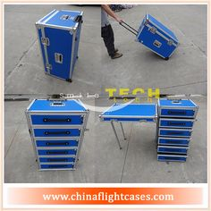 Smile Tech drawer carrying flight case (contact skype:rackcase020)