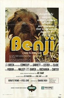 Benji is the first film in a series of nine about the golden mixed breed dog named Benji. It was written and directed by Joe Camp and filmed...