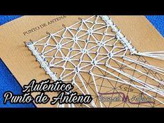 Punto de Antena - Bolillotutorial: ejecución auténtica - Raquel M. Adsuar Bolillotuber - YouTube