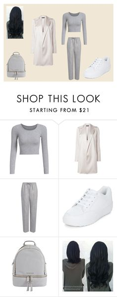 """""""Geen titel #257"""" by iris-22 ❤ liked on Polyvore featuring The Row, Joseph, New Look and MICHAEL Michael Kors"""