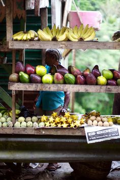 Jamaica - A Fruit and Vegetable Stand