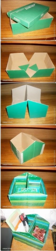 How to make reuse shoes case DIY step by step tutorial instruction ... This is one I like! See more awesome stuff at http://craftorganizer.org