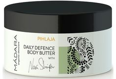 Mádara Pihlaja Body Butter vartalovoide 180 ml Natural Cosmetics, Body Butter, Aqua, Whipped Body Butter, Water, Natural Beauty Products