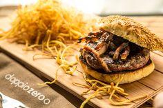 Hamburger con guanciale bio e grana vacche rosse