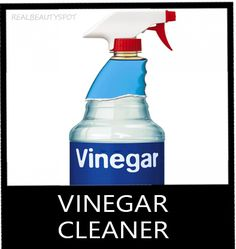 Vinegar cleaner - natural cleaning